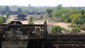 Angkor Wat from above