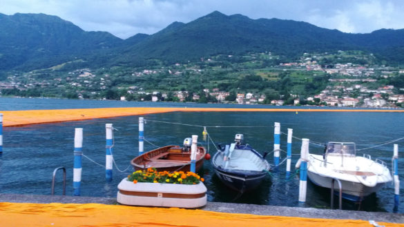 Bergamo, Iseo and Christo's Floating Piers in a weekend