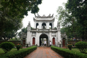 Temple ot Literature in Hanoi