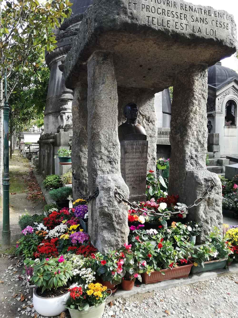 Allan Kardec's tomb