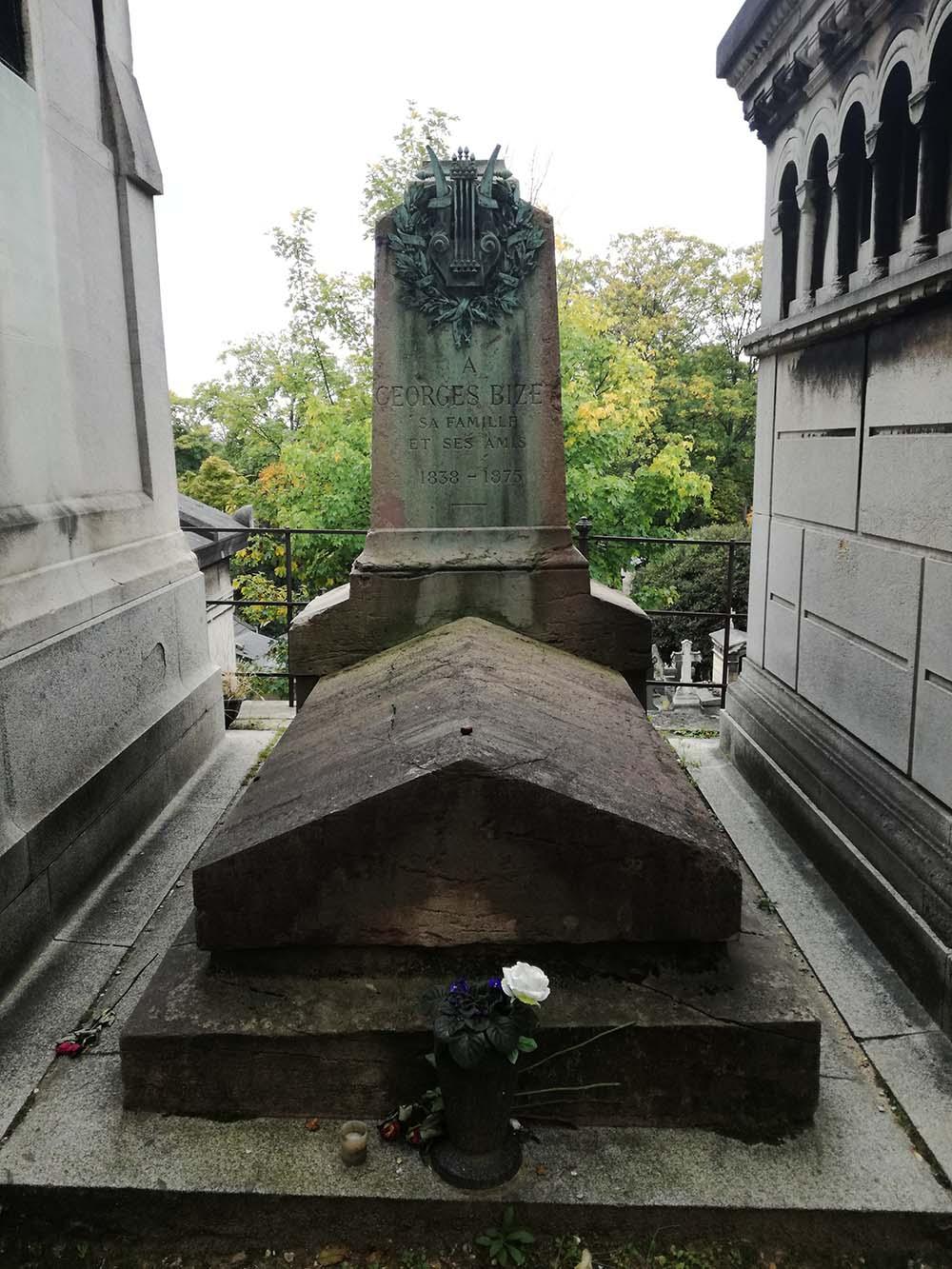 George Bizet's tomb