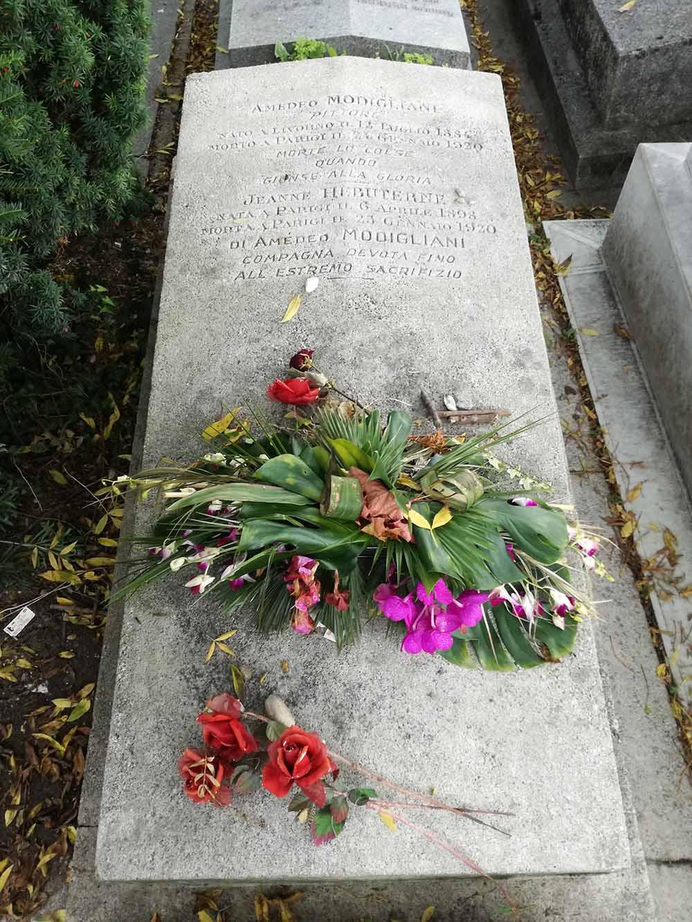 Modigliani's grave