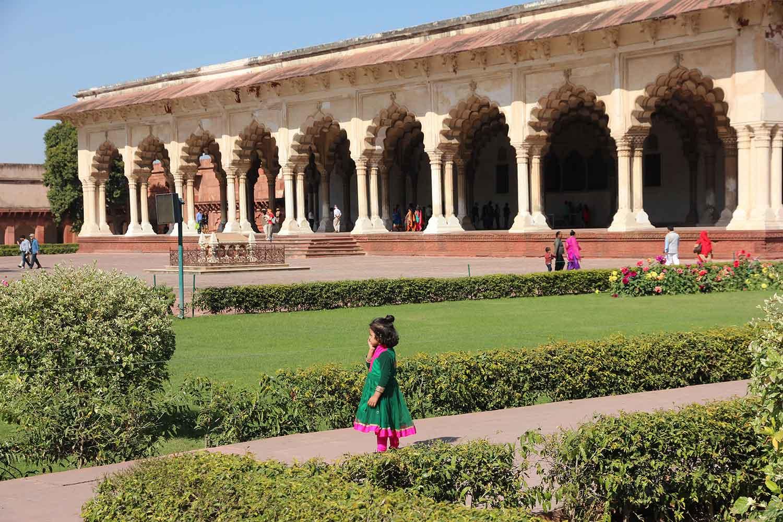 Diwan-i-aam, зала за аудиенции