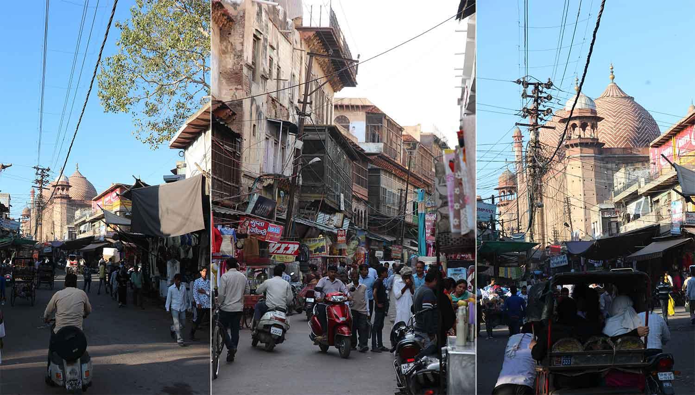 Пазарът Кинари и джамията Джама Масджид