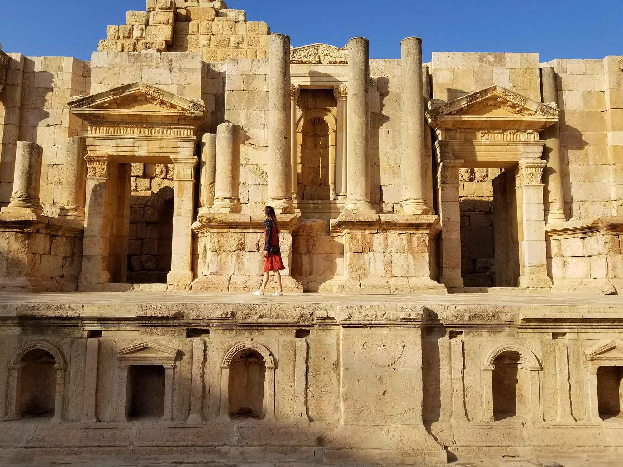 Театъра в древния град Джераш