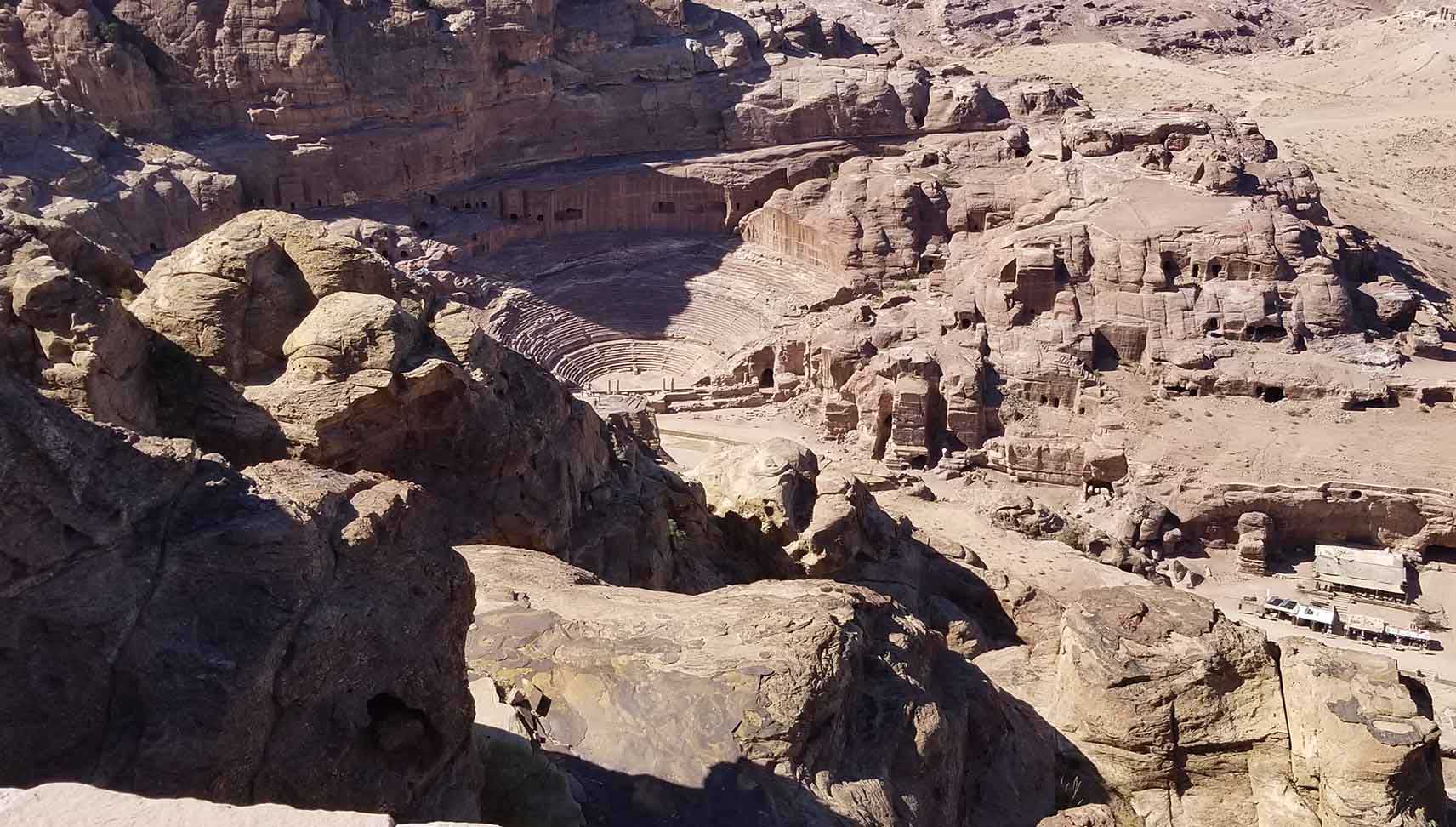 View over Petra