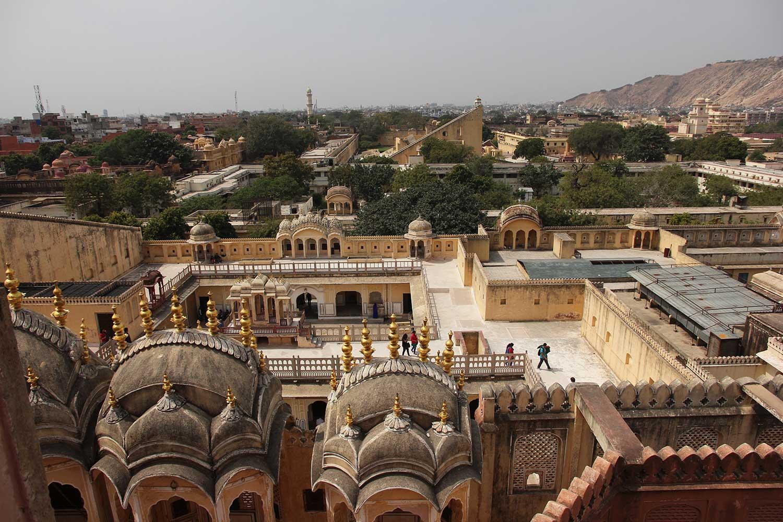 hawa mahal, rajasthan, jaipur, palace of wind