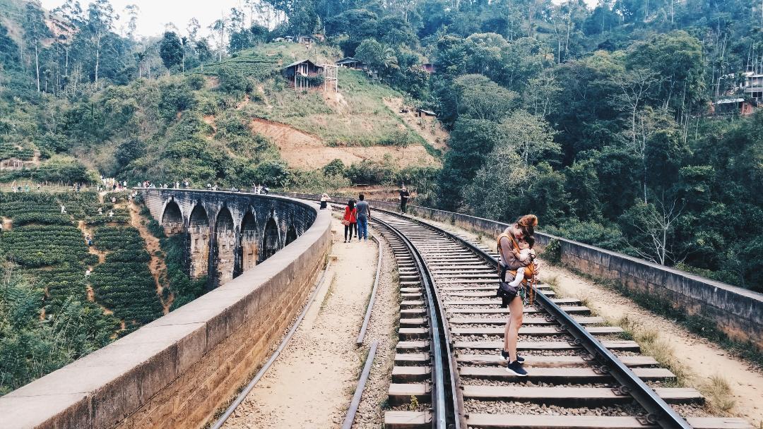 мост, шри ланка, елла