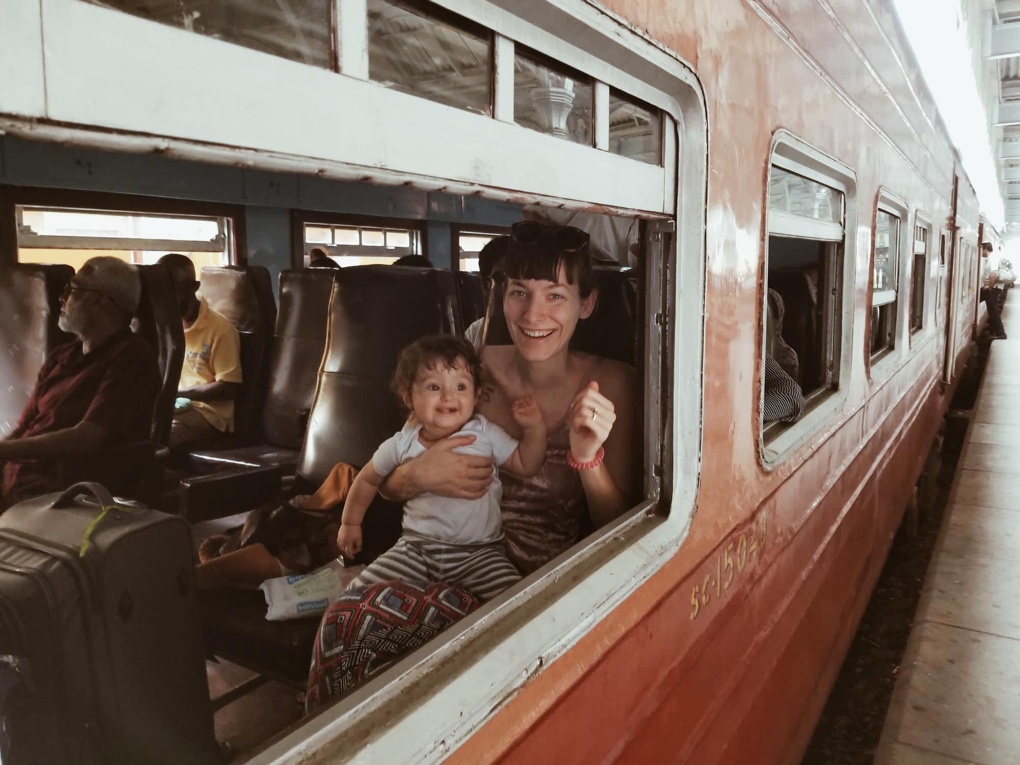 Влакът от Канди до Елла