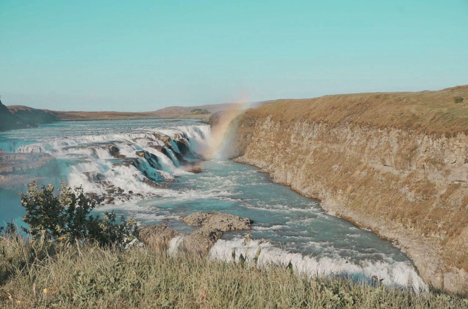 Водопадът Gullfoss