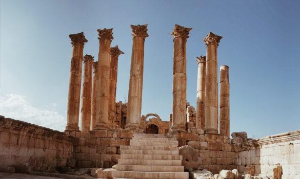 Oval square, Gerasa, Jerash